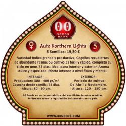 Auto Northern Lights - 00 Seeds