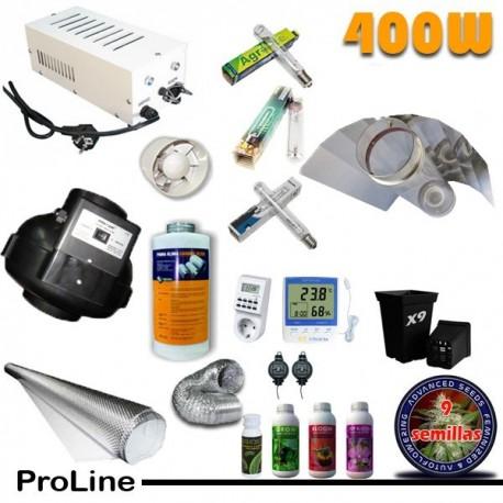 Kit Cultivo Profesional 400W