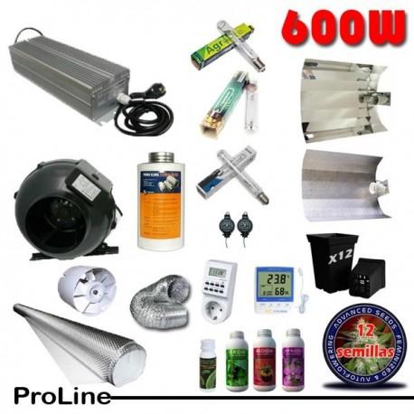Kit Cultivo Profesional 600W