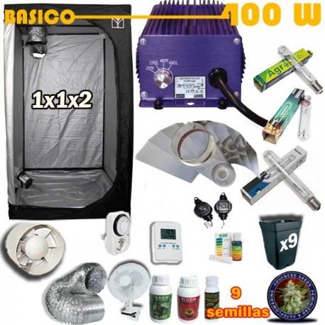 Kit Cultivo Básico Armario 400W
