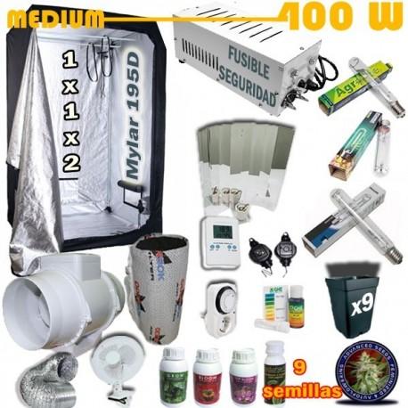 Kit Cultivo Medium Armario 400W