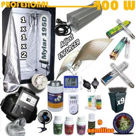 Kit Cultivo Profesional Armario 400W