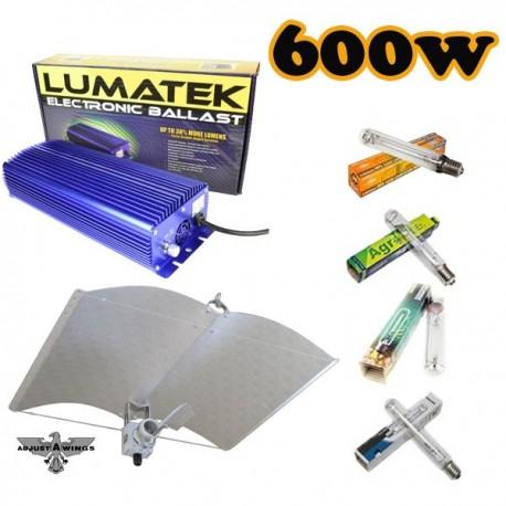 Kit Lumatek Regulable 600W