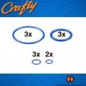 Crafty Replacement Sealing Rings Set