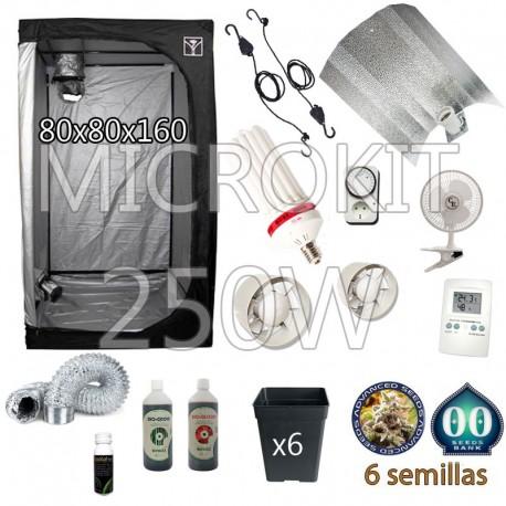 Kit Cultivo CFL Armario 80x80