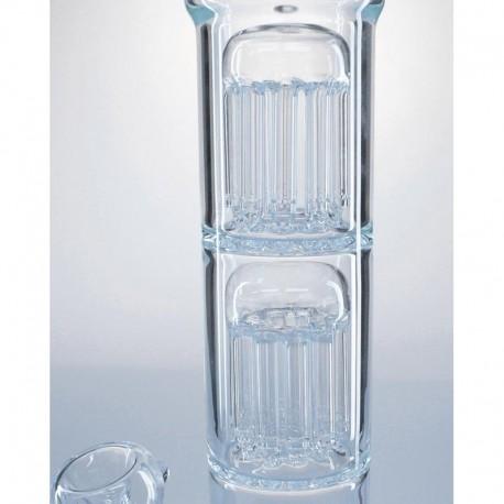 Glass Icebong HoneyComb & 2x10 Arm Tree Percolator