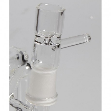 Black Leaf Bubbler Cone Chamber Oil-Weed