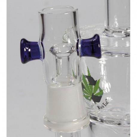 Bubbler Black Leaf HoneyComb Oil-Weed