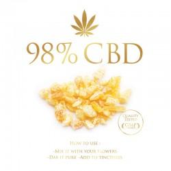 Cannabis Crystals (Pure Canabidiol)