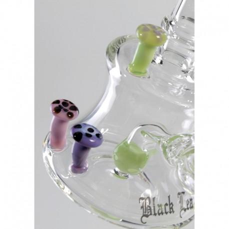 Bubbler Black Leaf Shrooms