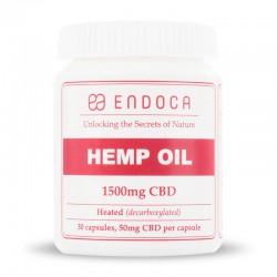 Cápsulas de Aceite de Cáñamo CBD (15%) - 1500mg